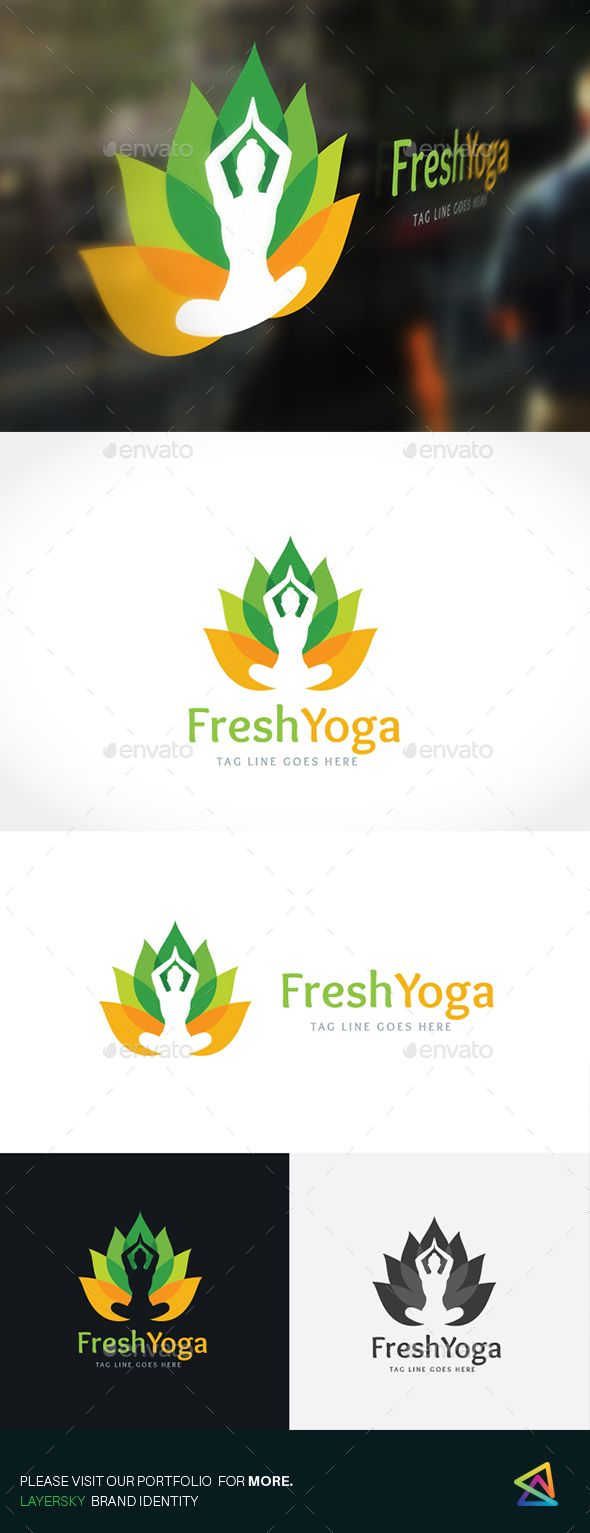 Yoga Logo | Pinterest