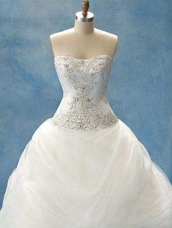 Belle\'s Disney Princess Wedding Dress - Alfred Angelo | Wedding ...