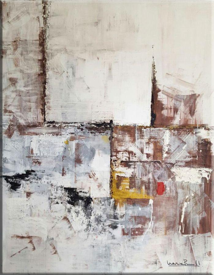 Artista: Maria Prieto-Moreno Pfeifer Categoría: Pintura abstracta contemporánea Técnica acrílico sobre lienzo de medidas 100 x 70 cm
