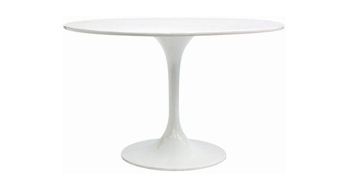 Tavolo Tulip rotondo di Eero Saarinen 90 | mobilinolimit.it | Eero ...