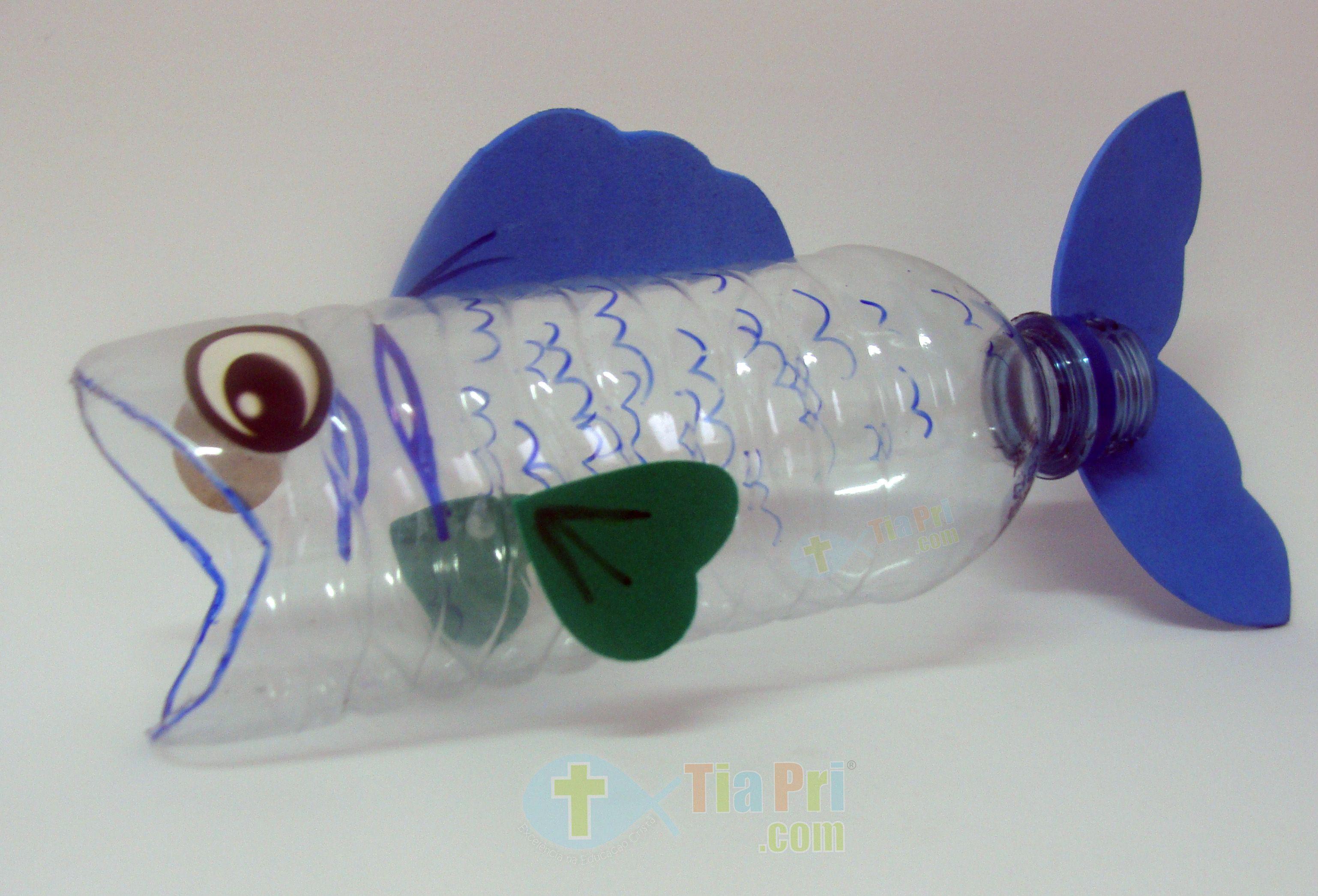 6 Manualidades Infantiles Bajo El Mar Garrafas Pet Brinquedo