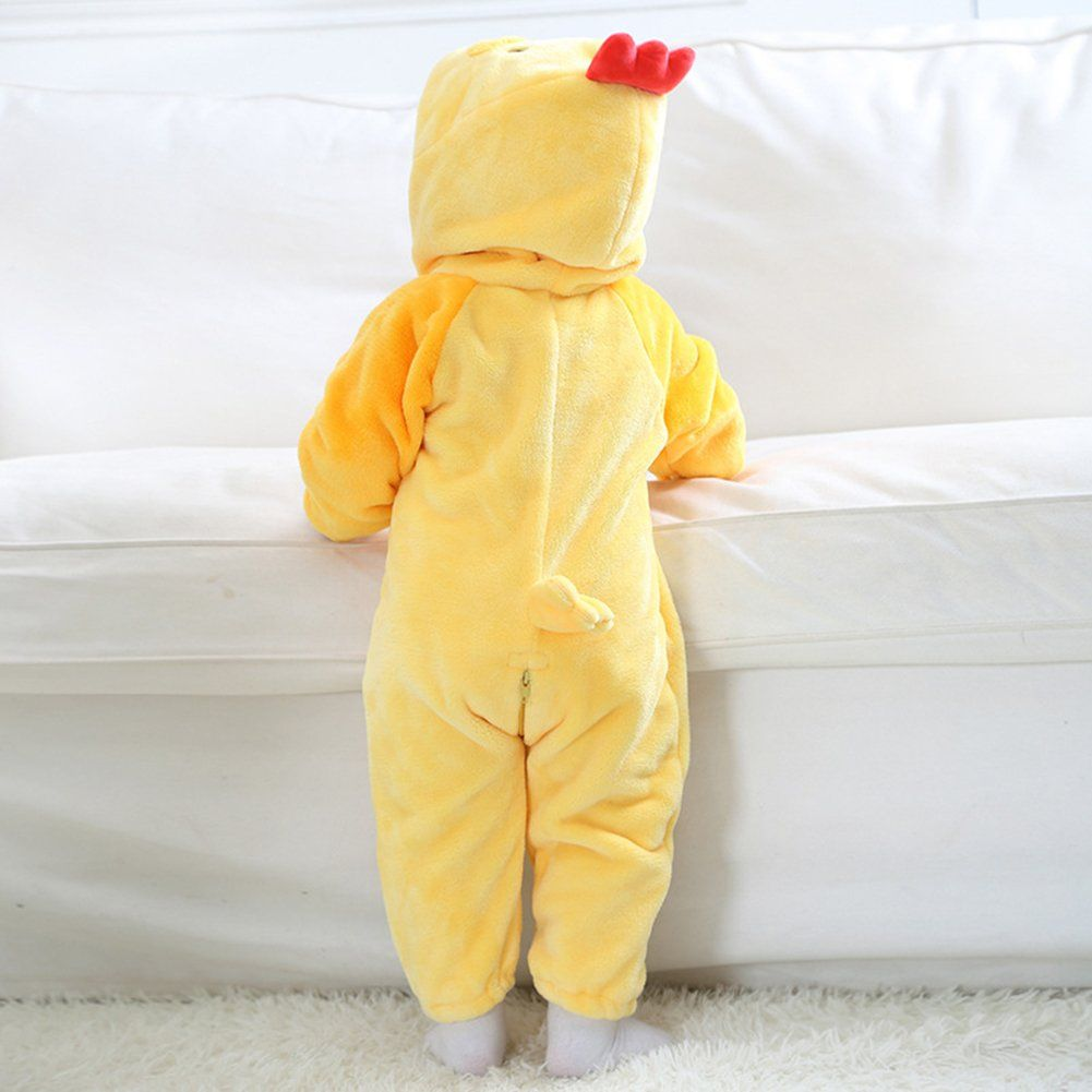 8c50f91b8b Woman Costumes for Halloween   Kirmoo Baby Chicken Costume Halloween  Christmas Romper Animal Onesie Pajamas for Kids 70 for 3~6 MonthsHeight  56~66cm   ...