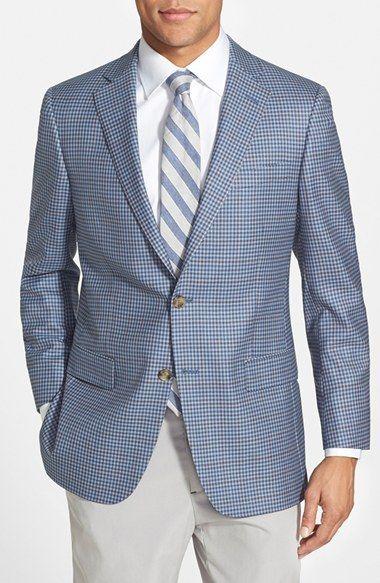 5ea5e09d85 Hart Schaffner Marx 'New York' Classic Fit Check Wool Sport Coat |  Nordstrom. Trajes De HombreCosas ...