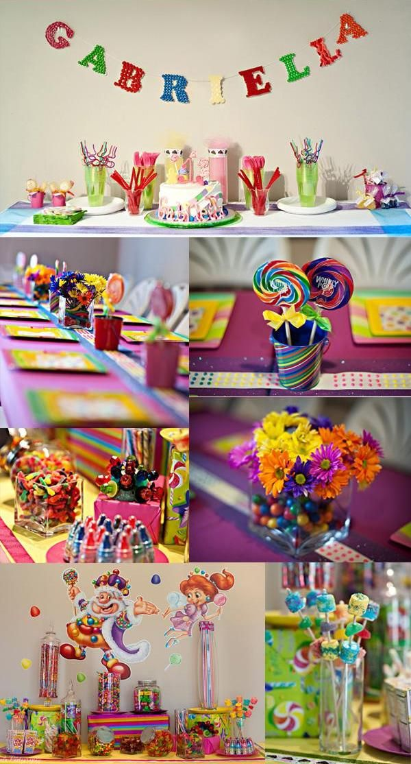 Charming Candy Themed Decoration Ideas Part - 13: Candy | Candyland Birthday Party Theme! | Sweet City Candy
