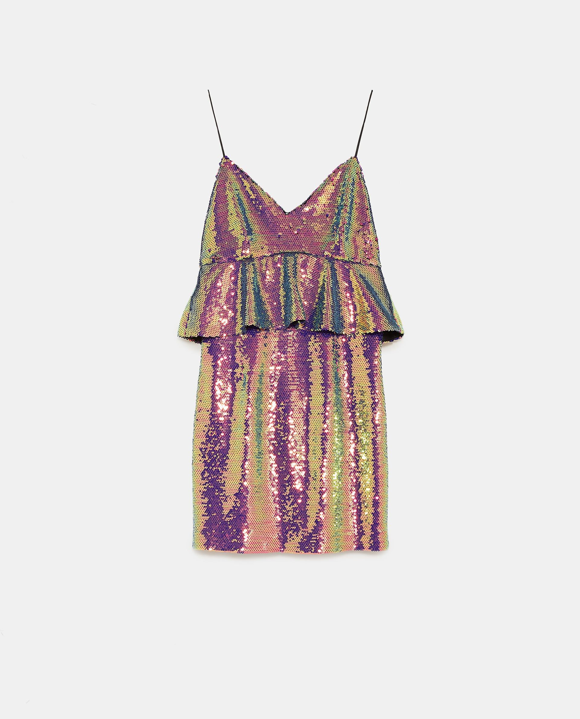 bdf19995dd MULTICOLOURED SEQUIN DRESS from Zara