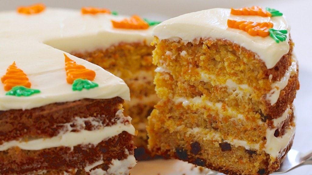 Best Ever Carrot Cake Cream Cheese Frosting Bigger Bolder Baking Recipe Carrot Cake Recipe Cake Recipes Uk Cake Recipes