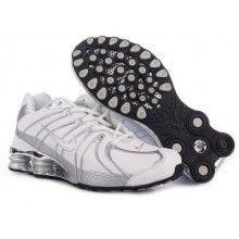 Nike Shox OZ Shoes 306 Galvanoplastics white silver