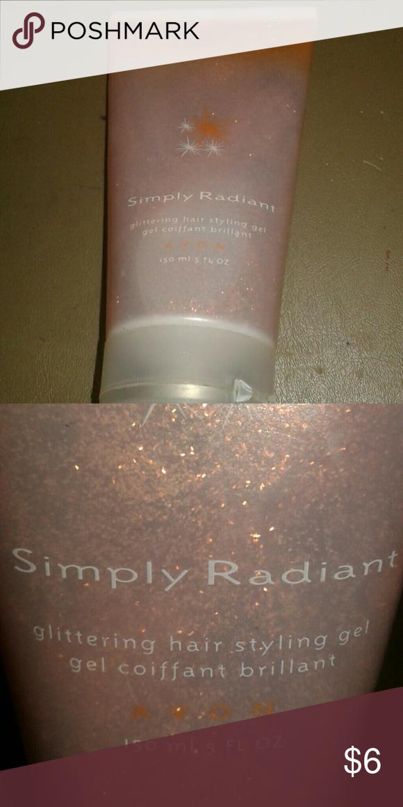 Avo Simply Radiant Glritering Style Gel Bronze glitter Avon Accessories Hair Accessories