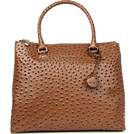 251c95f3c KAREN MILLEN Ostrich effect tote bag £225.00   All things made of ...