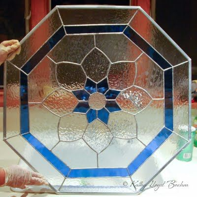Boehm Stained Glass Blog: Octagonal window completed ...
