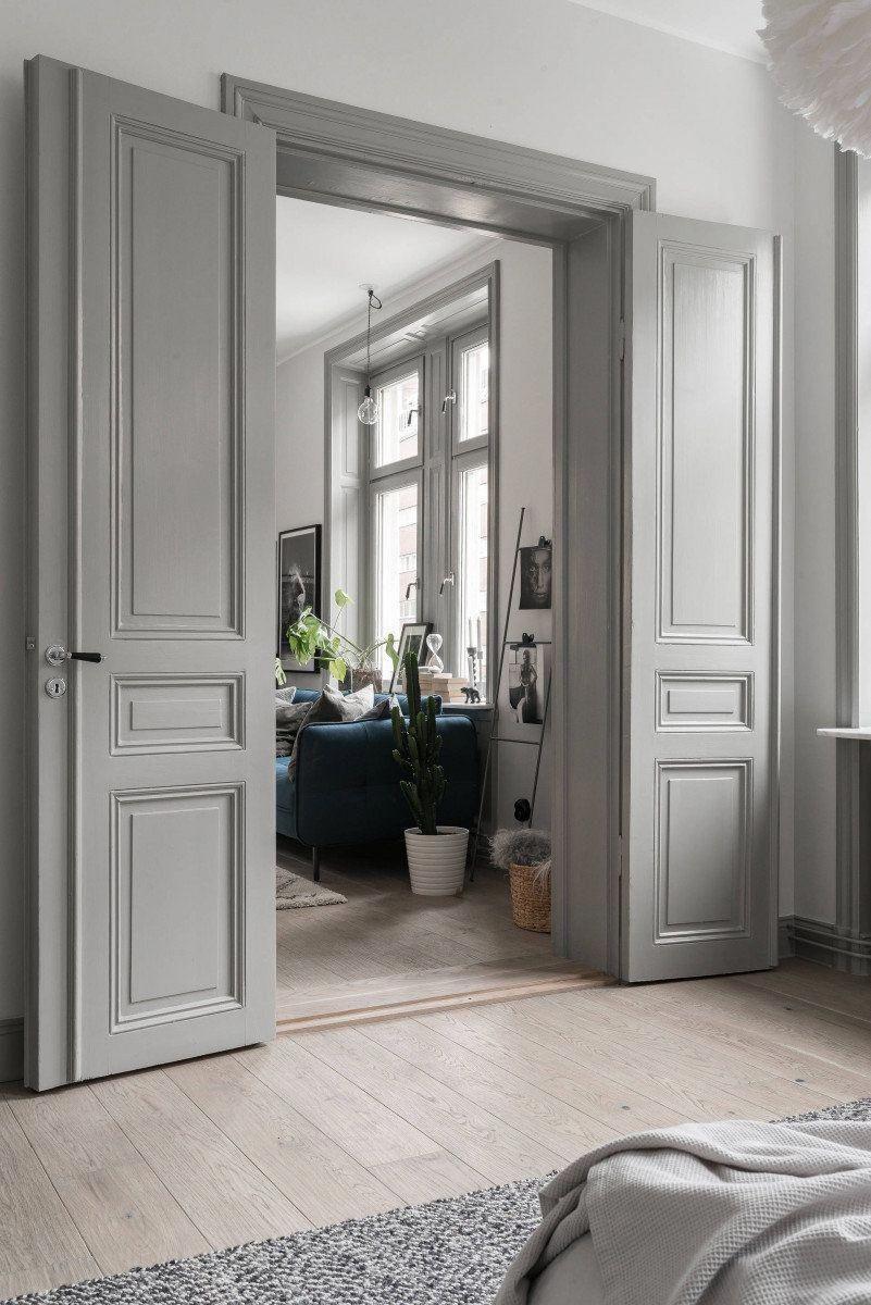 Interesting Sliding Double Doors 2 In 2020 Solid Wood Interior Door French Doors Interior Wood Doors Interior