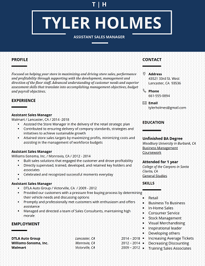 Blue Bell Table Formatted Core Functional Resume W White Text Functional Resume Template Resume Template Word Resume Template