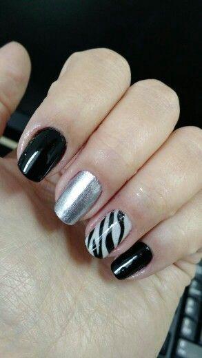 #zebra #nailsart