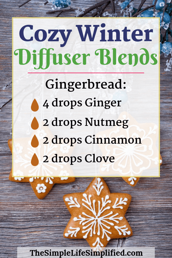 10 Winter Diffuser Blends To Feel Cozy And Happy #winterdiffuserblends