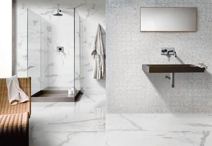 Carrara Tiles Porcelain Replica Tiles From Kalafrana Ceramics Cool Marble Floor Bathroom Review