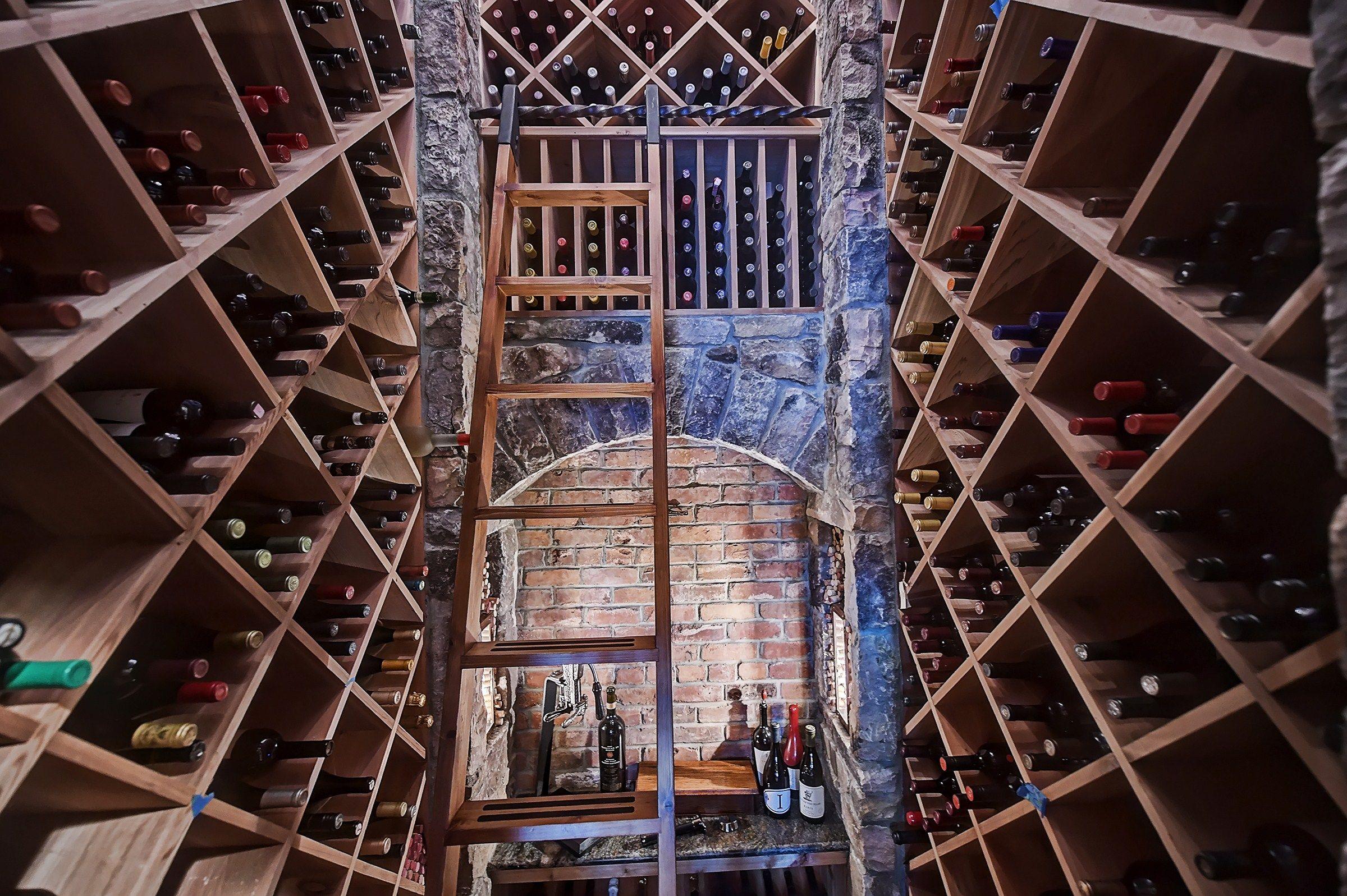 Luxury Wine Cellar At This Epic North Carolina Estate Of