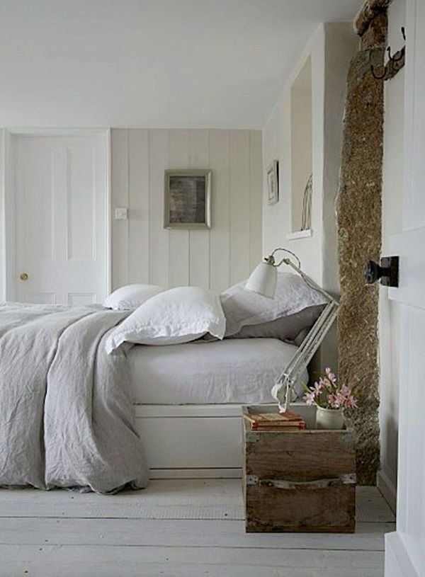 40 Comfy Cottage Style Bedroom Ideas #beachcottagestyle
