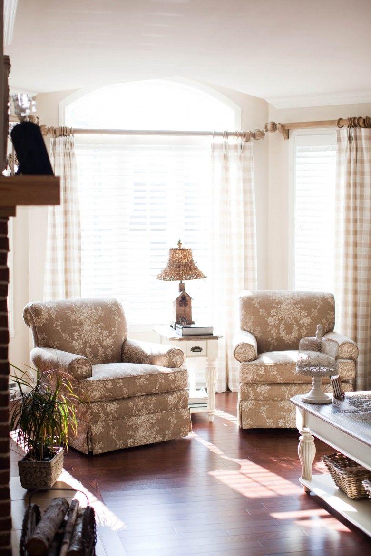 Salon champ tre calme et reposant cr me design d for Le calme interieur