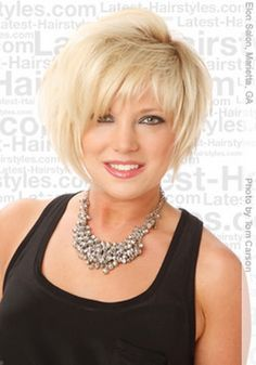 Short Haircuts For Heavy Women Thick Hair Styles Medium Hair Styles Hair Styles