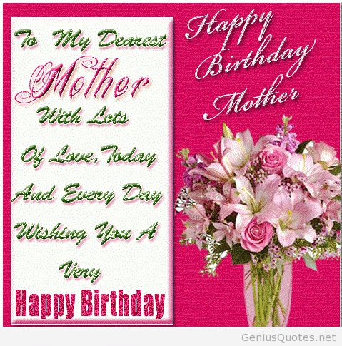 Image from httpgeniusquoteswp contentuploads201401 top happy birthday mom quotes card poems mother best free home design idea inspiration bookmarktalkfo Images