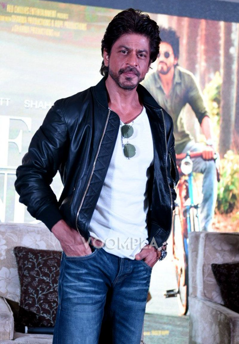 Image result for shahrukh khan leather jacket