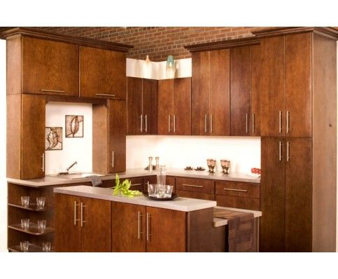 Flat Cabinets | Hardware For Raised And Flat Panel Kitchen Cabinets