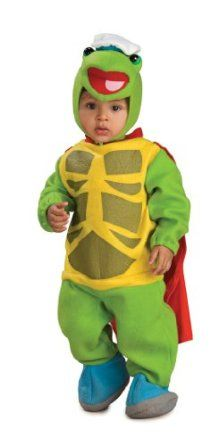 Rubie S Costume Co Wonder Pets Romper And Headpiece Turtle Tuck Baby Costumes For Boys