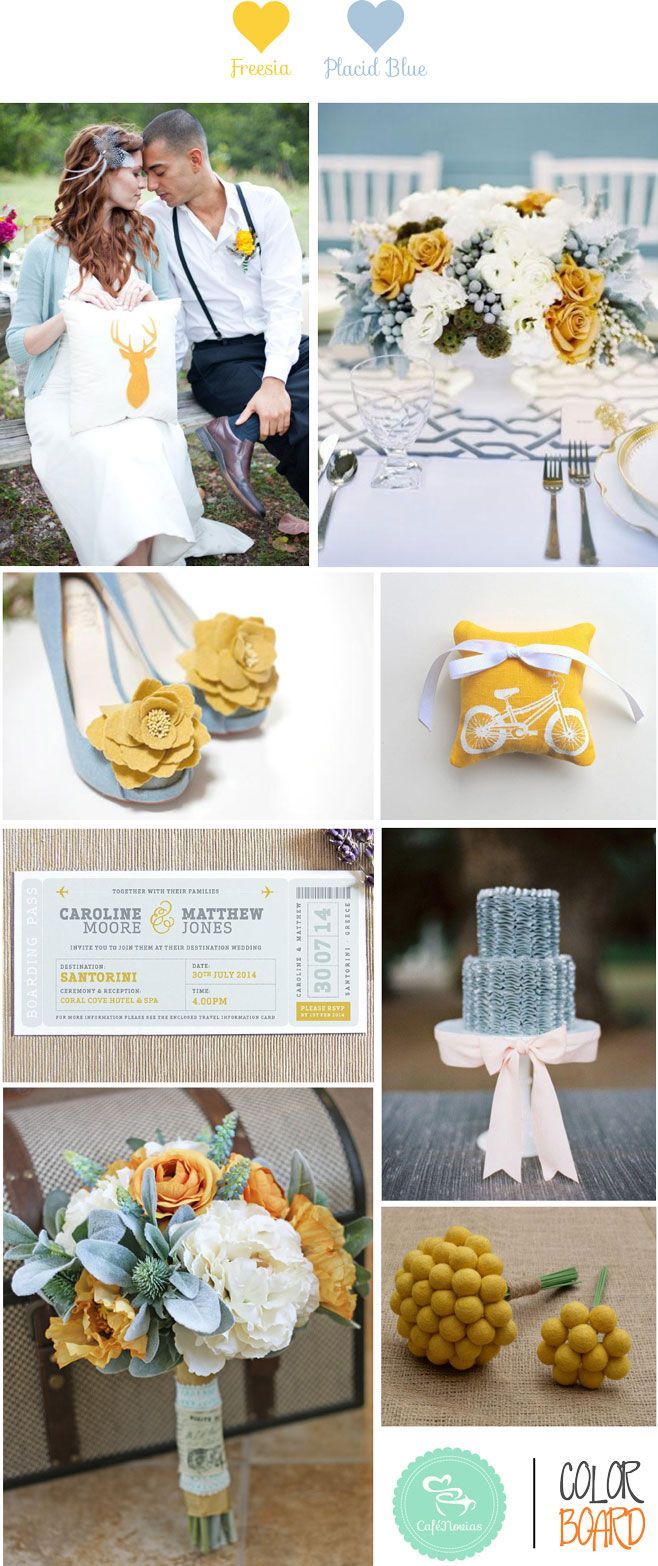 Color 2014 freesia on pinterest pantone yellow and pantone colours - Pantone 2014 Freesia Placid Blue