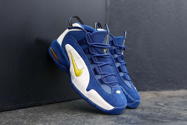 Swag Craze  First Look  Nike Air Max Penny 1  Warriors   f076a2e01