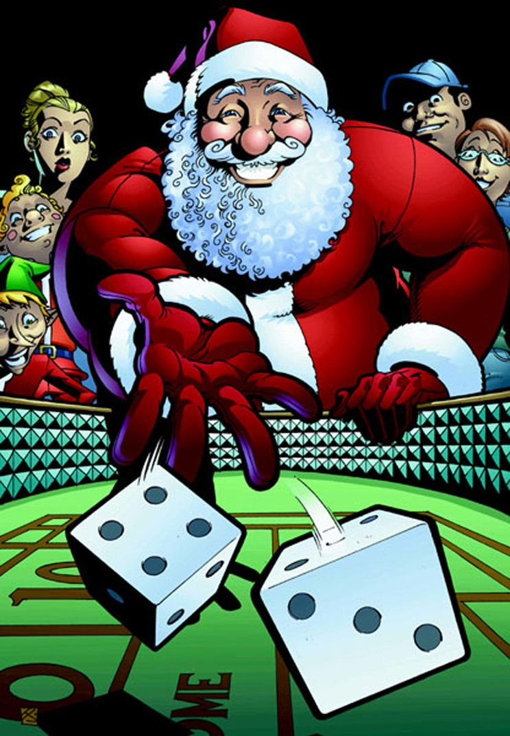 Gambling Santa The Finale Casino Theme Casino Party Casino Party Games