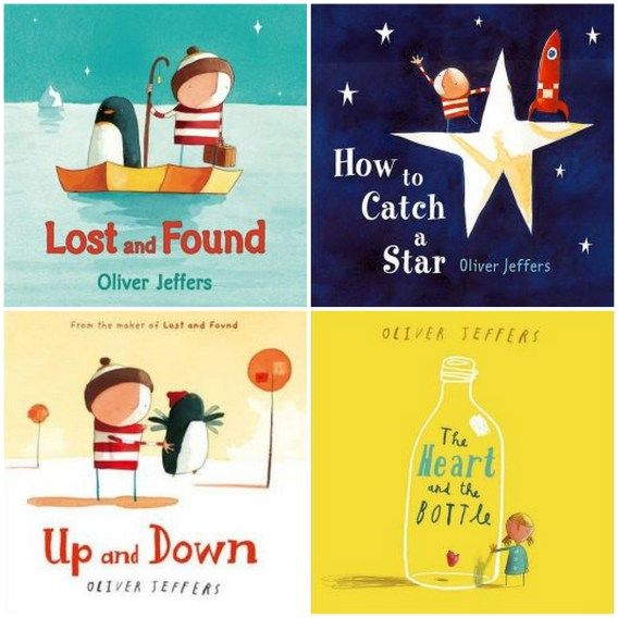 Oliver Jeffers books for kids