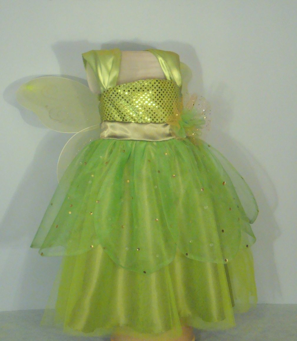 On sale at ETSY.com. Tinkerbell apron dress. The beauty of a dress ...