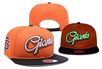 MLB San Francisco Giants Adjustable Snapback Hat YD16062717