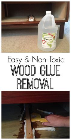 Removing Wood Glue Testing A Non Toxic
