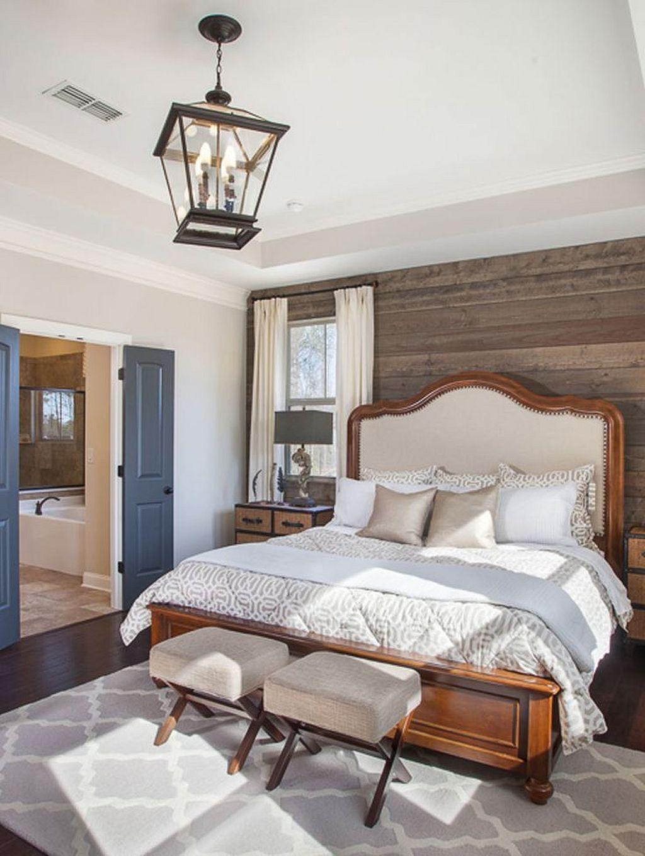 Cozy rustic farmhouse bedroom 15 living room decor