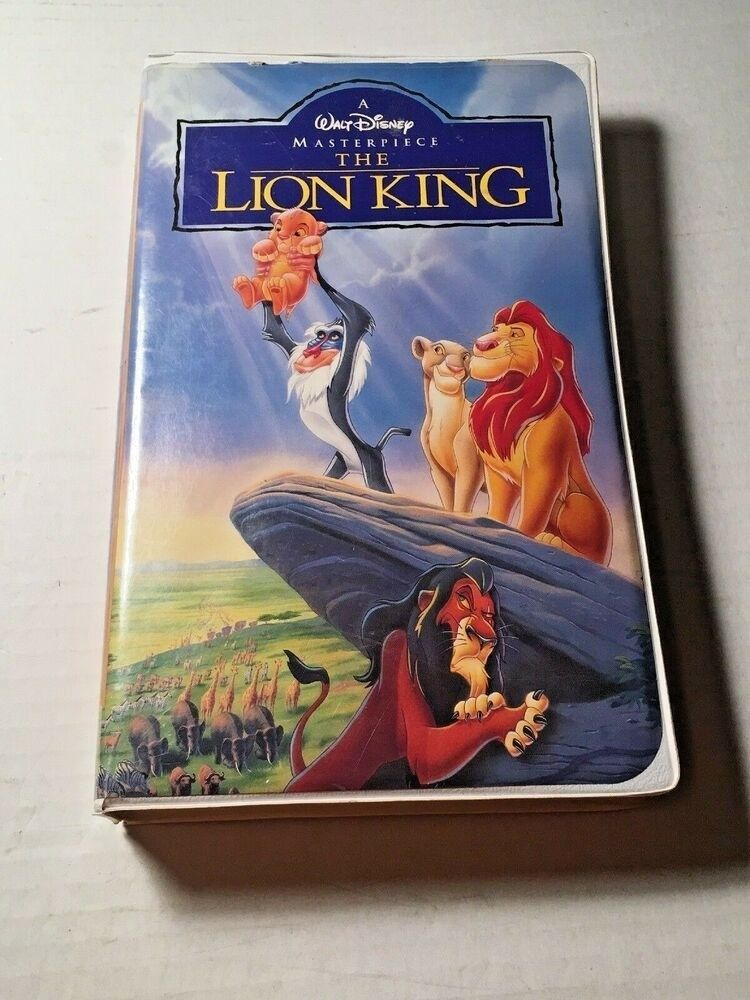 And Lastly The Lion King Is The Best Selling Vhs Tape Of All Time In 2020 Lion King Lion King Dvd Simba And Nala