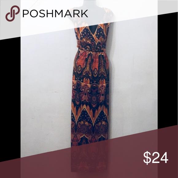 Susan Graver Maxi Dress Size 1x