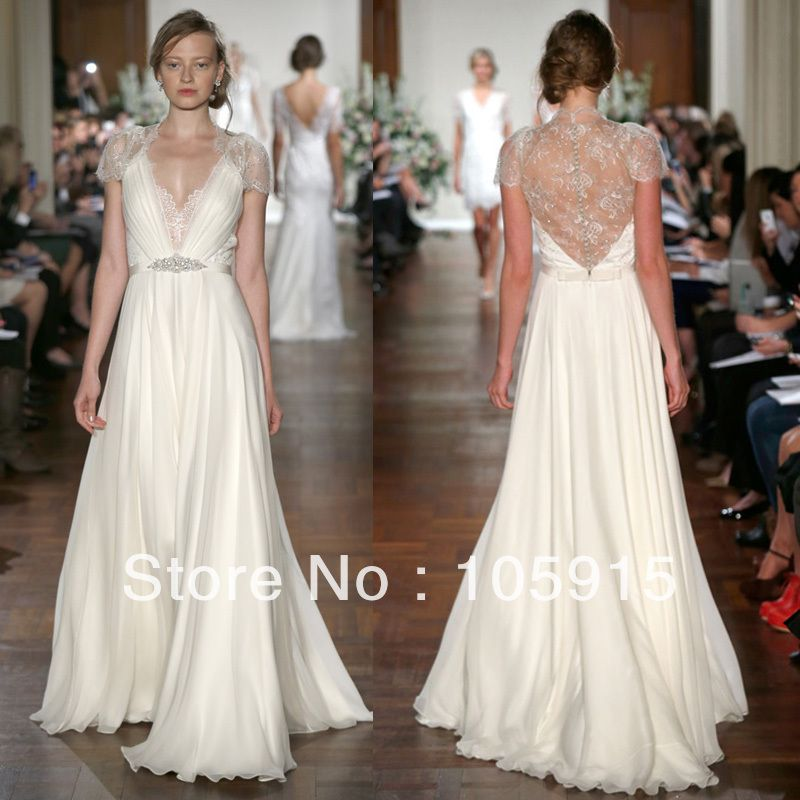 a2bedeeb766bf Kate Middleton In Jenny Packham Sexy White With Crystal Lace with ...