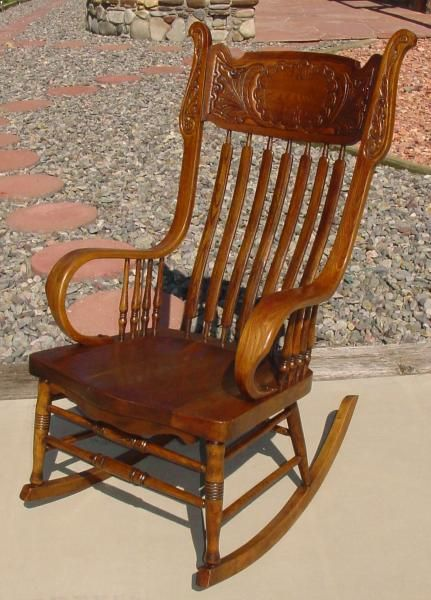 Wondrous This Beautiful Rocking Chair Was Manufactured By The Murphy Squirreltailoven Fun Painted Chair Ideas Images Squirreltailovenorg