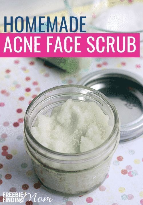 Do you or someone you know suffer from acne? There's no need to resort to using products loaded with chemicals and other harsh ingredients when you can make all-natural products that will be gentler yet effective on your skin. This Homemade Face Scrub for Acne requires only a handful of ingredients and just minutes to whip up. Give it a try today! #diyfacescrubforacne #homemadefacescrubforacne facescrubdiyexfoliating #facescrubhomemade