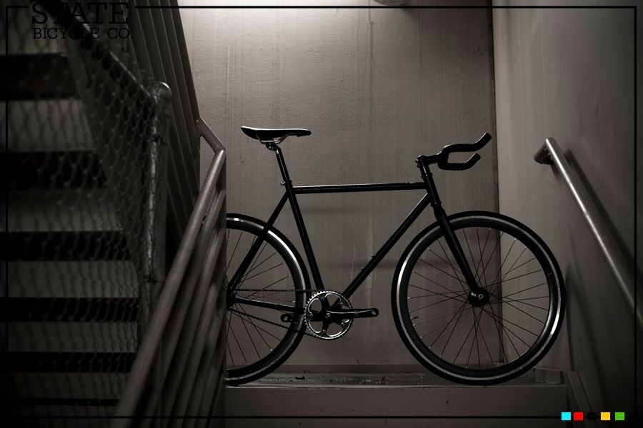 State Bicycle Co Matte Black 2 0 Bicycle Fixed Gear Bike Fixie
