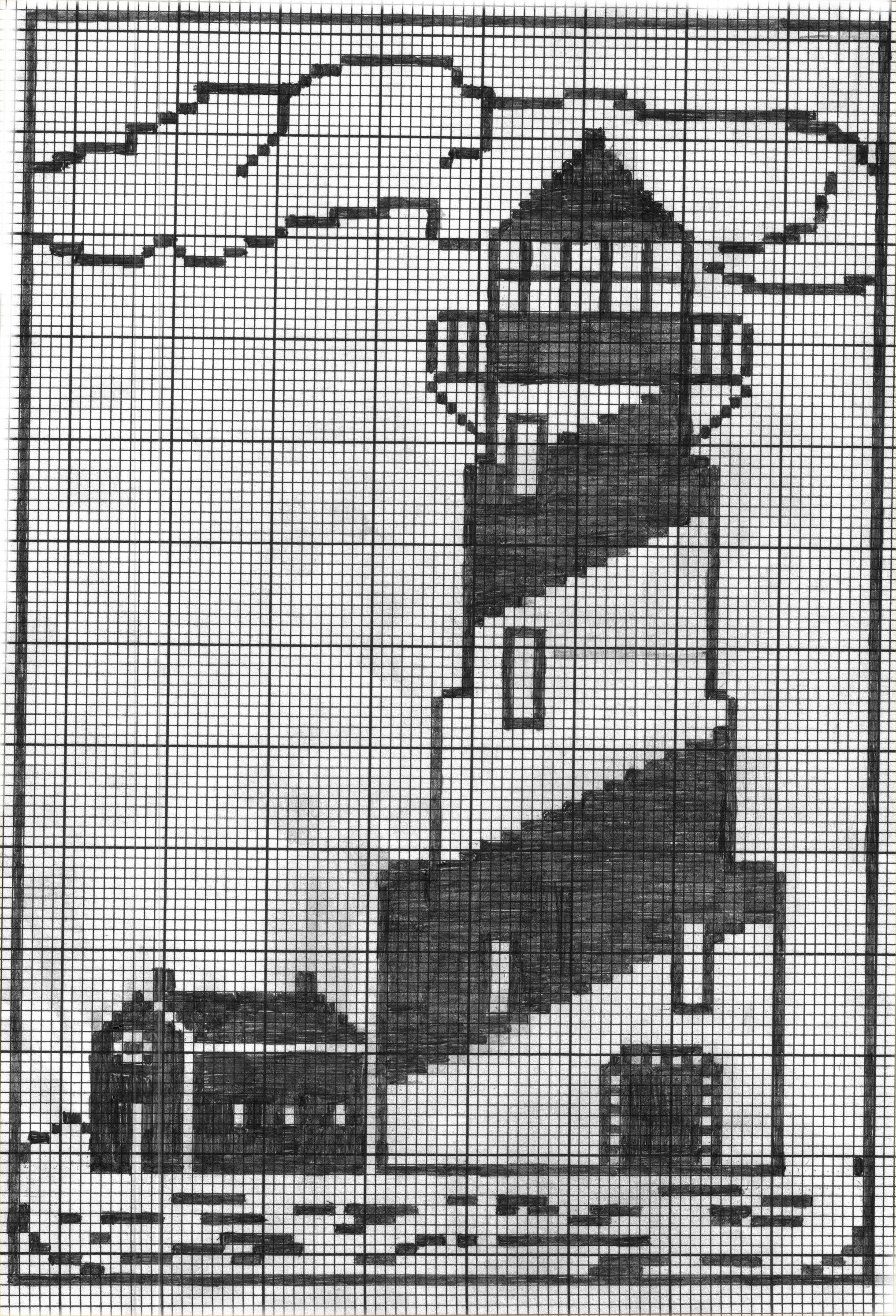 Leuchtturm | Leuchtturm gardine | Pinterest | Faro, Punto de cruz y ...