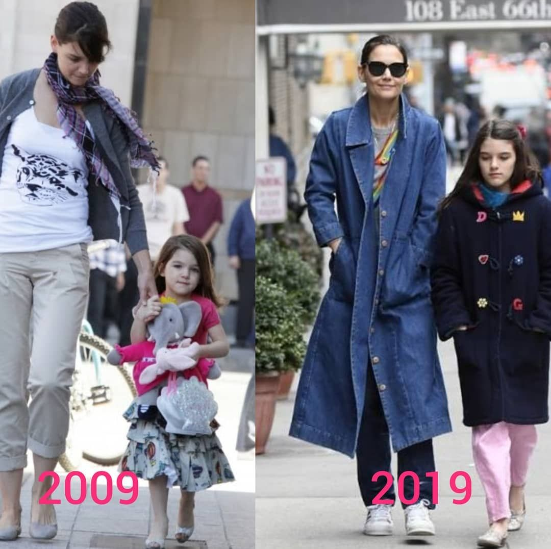 Tom Cruise Suri Cruise On Instagram Then And Now Growup Somuch 2009 2019 2009vs2019 Thenandnow Withmom Suri Cruise Tom Cruise And Suri Katie Holmes