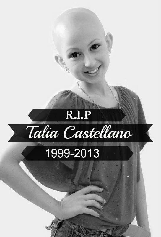 Talia Castellano The Spiritual Warrior Who Showed Us All That Beauty Is More Than Skin Deep Cancer Kids Ripped Childhood Cancer