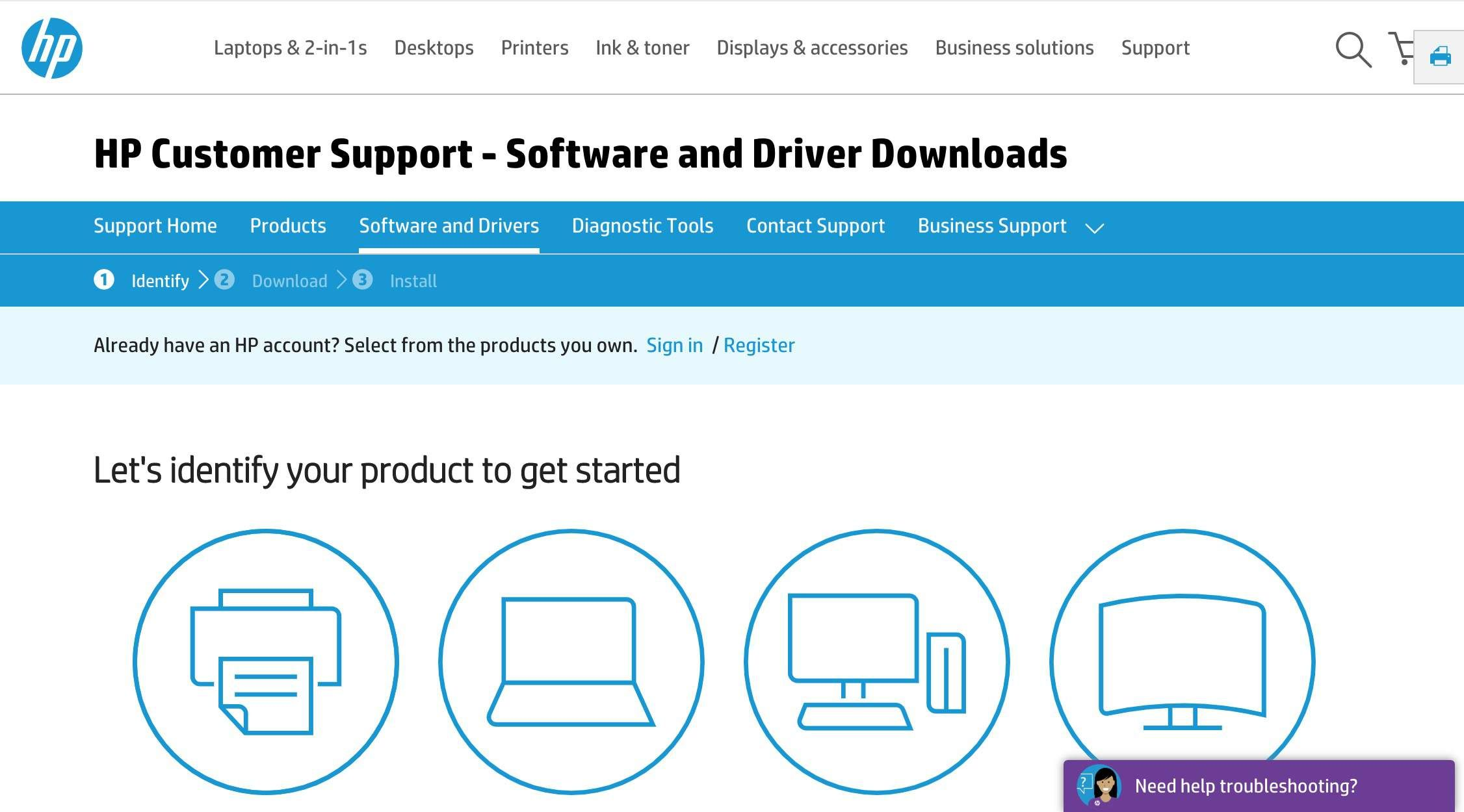 Hp Support Drivers Business Support Diagnostic Tool Support