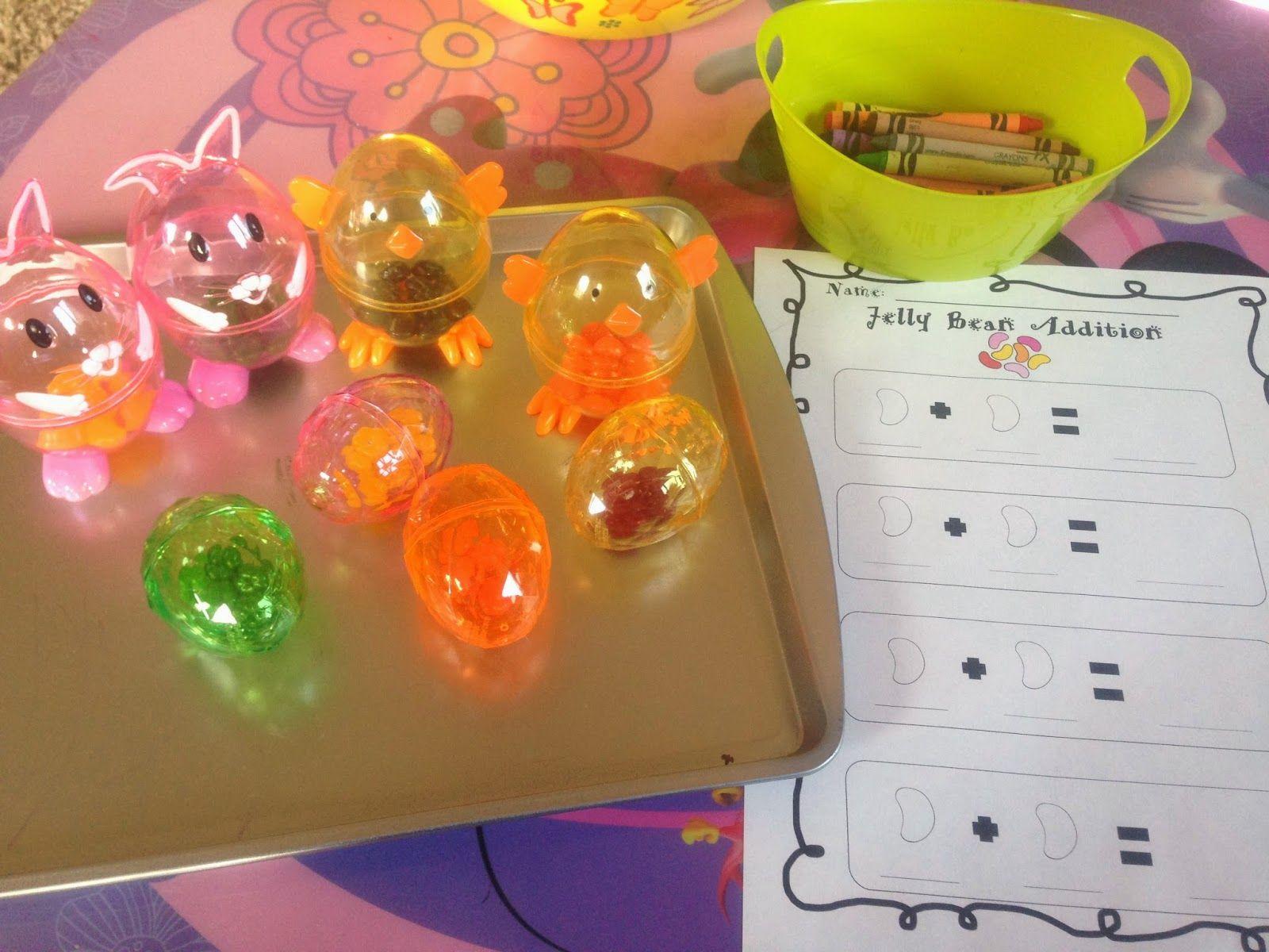 Teaching Munchkins Jelly Bean Addition