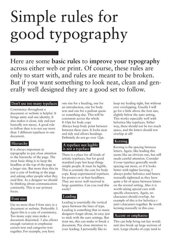 http://www.freddesign.co.uk/2011/05/archive/good-typography-an-introduction-to-hierarchy/: