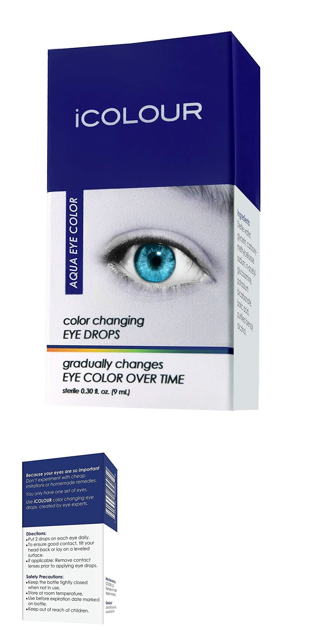 Eye Drops And Wash 122773 Icolour Color Changing Eye Drops Change