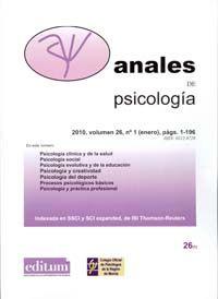 Anales De Psicologia Psicologia Psicologia Clinica Y Procesos