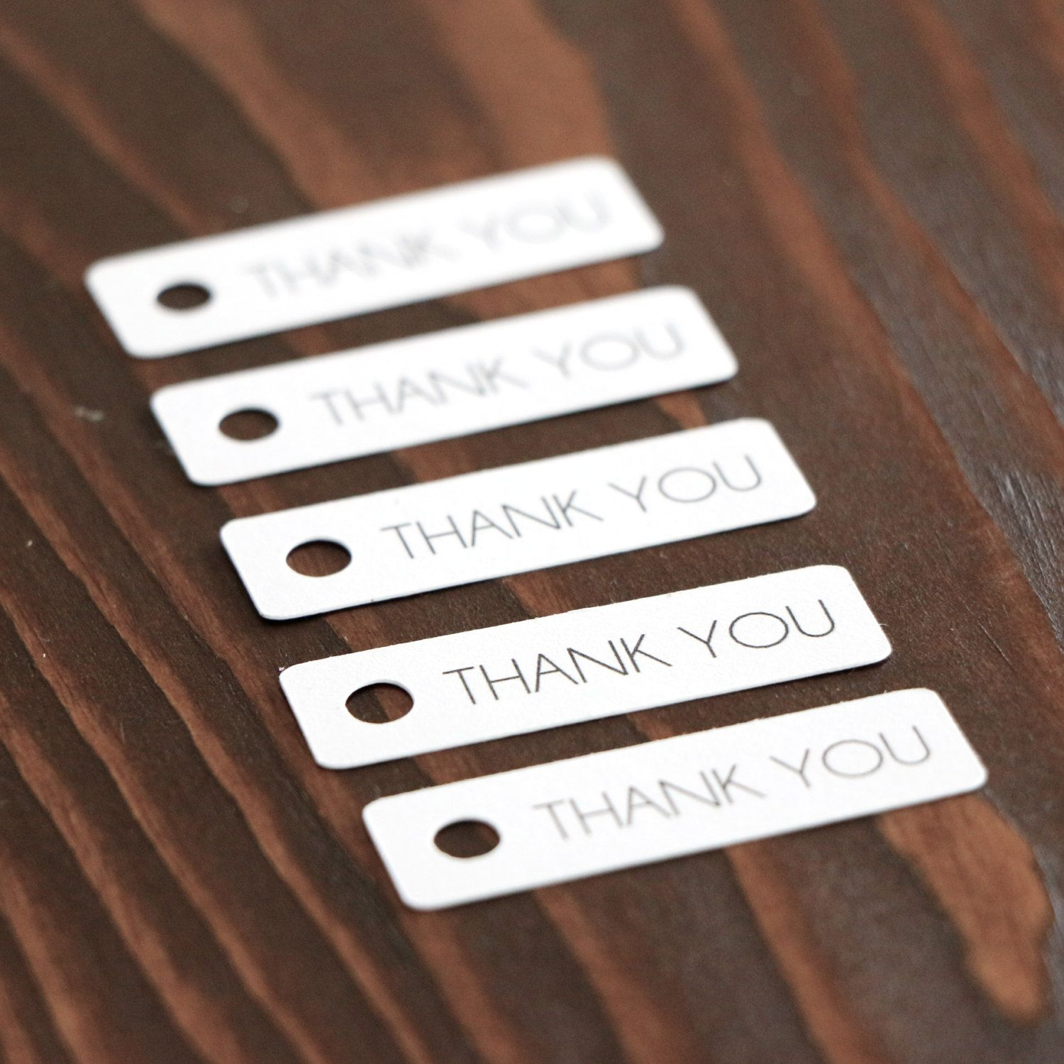 Thank You Gift Tags - White - Hang Tags. Wedding Favor Tags. Etsy ...